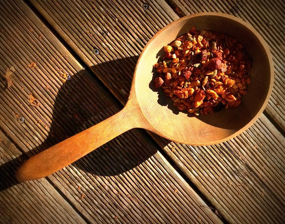 Granola für das erste Oryoki-freie Frühstück